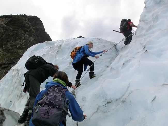 Eisklettern - Franz Josef Gletscher