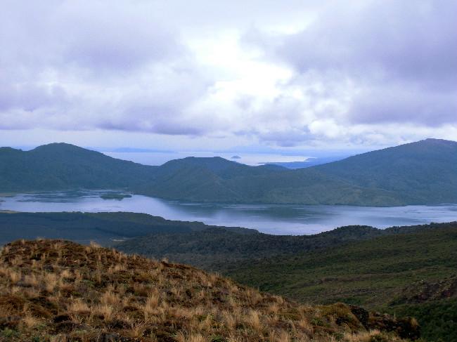 Tongariro Crossing - Lake Taupo