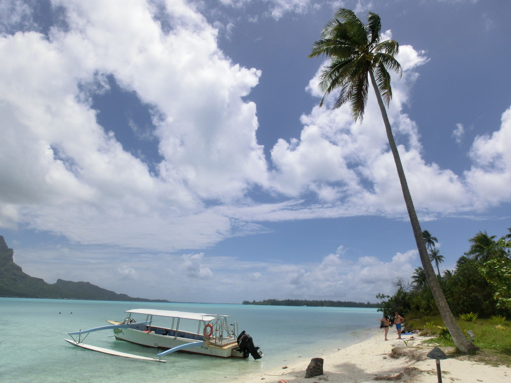 Bora Bora Lagune - Lunch auf einer Motu
