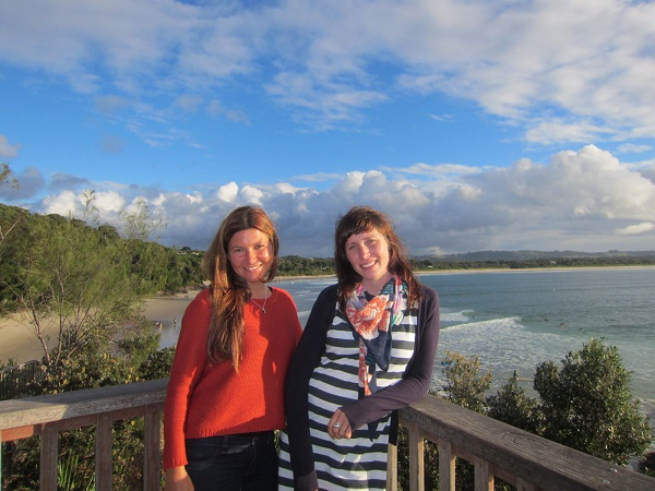 Alex & Anna am Fishierman's Lookout, Byron bay