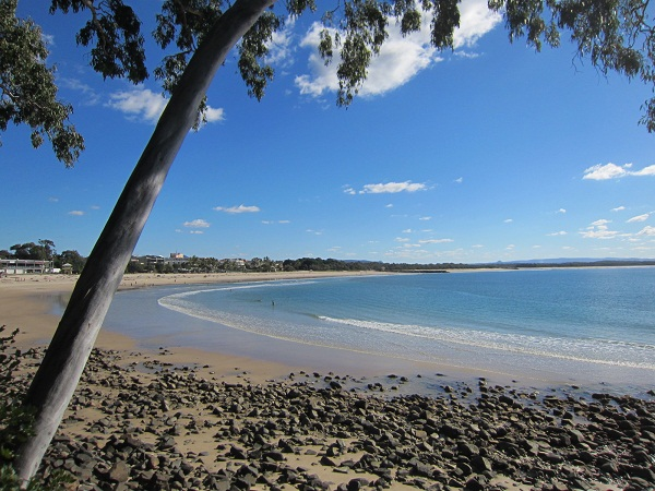 Blick auf Main Beach