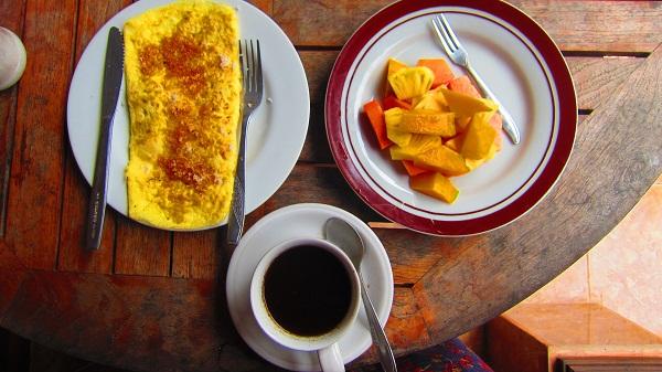 Frühstück im Alamanda