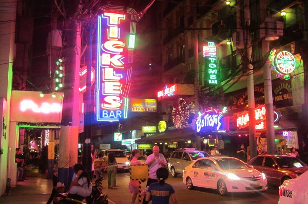 Amüsierviertel in Makati
