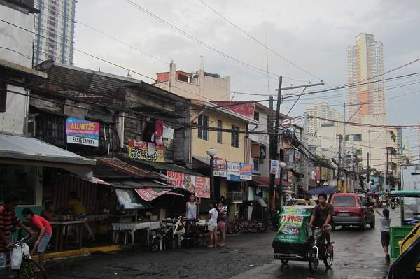 Straßen in Manila