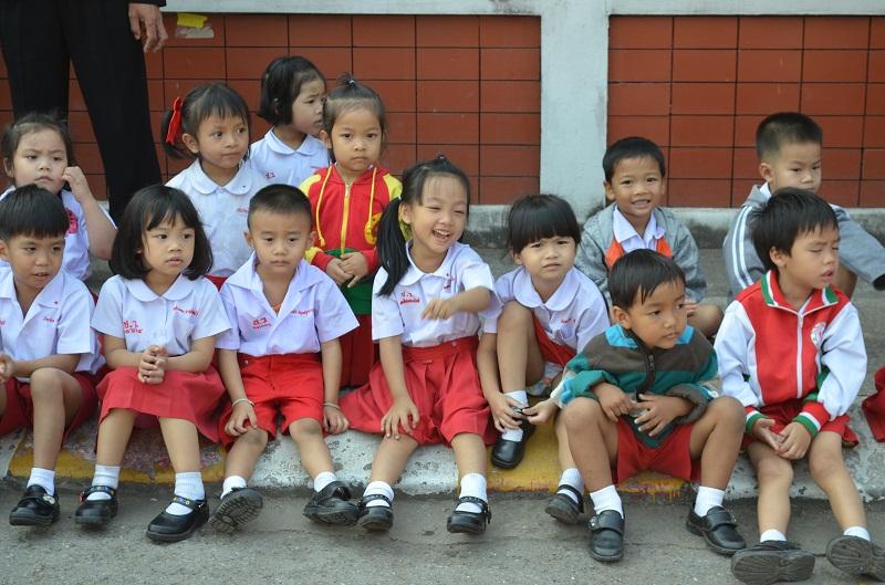Schulkinder, Thailand