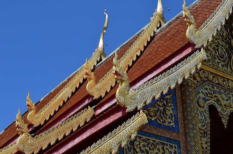 Tempel, Chiang Mai