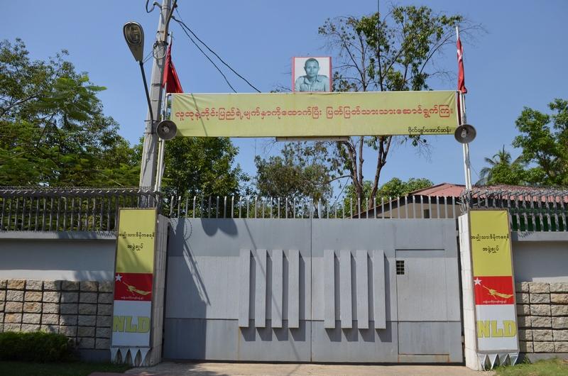 Aung San Suu Kyi's Haus, Yangon