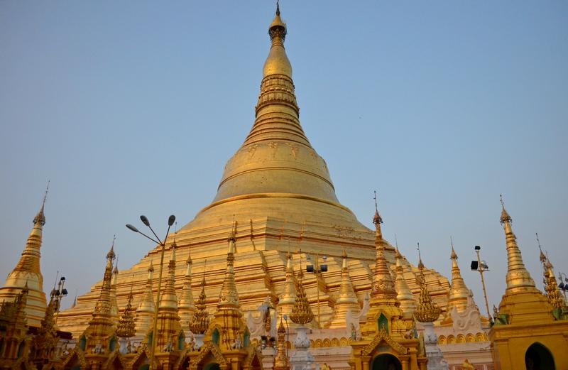 Shwedagon Pagode, Yangon, Burma